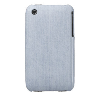 Light Blue Chenille Fabric Texture iPhone 3 Cover