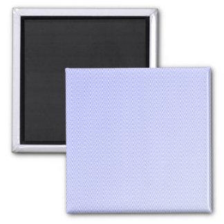 Light blue chevron pattern 2 inch square magnet