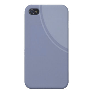 light blue circle iPhone 4 cover