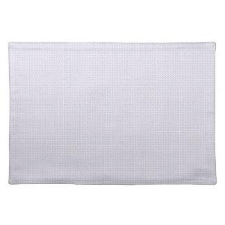 Light Blue Circle Pattern Cloth Placemat