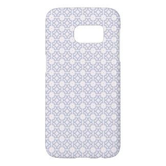 Light Blue Circle Pattern Samsung Galaxy S7 Case