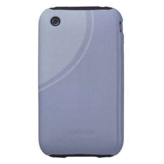 light blue circle tough iPhone 3 case