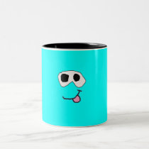 Light Blue Clay Friend Mug