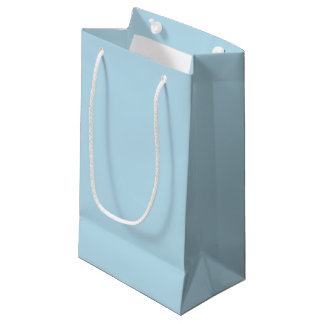 Solid Blue Gift Bags   Zazzle