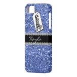 LIGHT  BLUE CrystaTl BLING IPHONE  5 Case iPhone 5 Cover