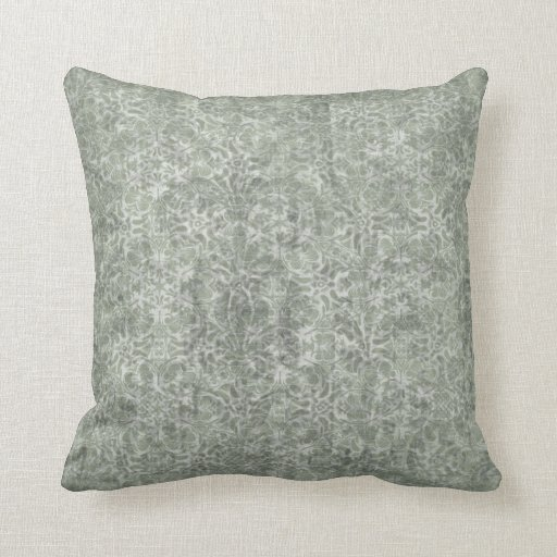Light Blue Damask Throw Pillow Zazzle