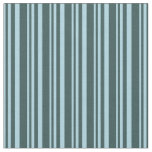 [ Thumbnail: Light Blue & Dark Slate Gray Colored Stripes Fabric ]