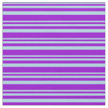 [ Thumbnail: Light Blue & Dark Violet Colored Lines Fabric ]