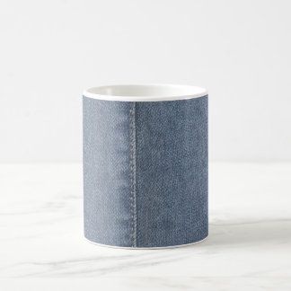 Light Blue Denim Seam Coffee Mug