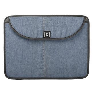 Light Blue Denim Seam Sleeve For MacBooks