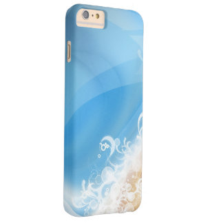 Light Blue Design Barely There iPhone 6 Plus Case