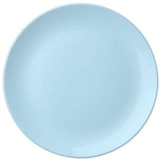 Light Blue Dinner Plate