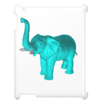 Light Blue Elephant Cover For The iPad 2 3 4
