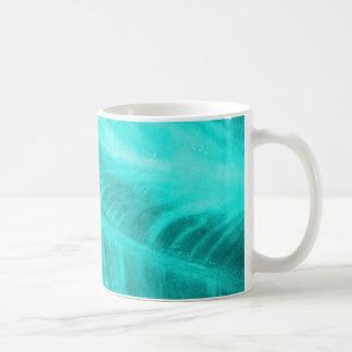 Light Blue Elephant Ear Texture Coffee Mug