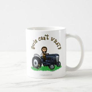 Light Blue Farmer Coffee Mug