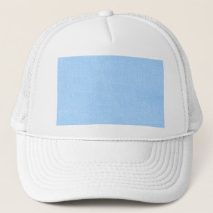 Light Blue Faux Linen Fabric Textured Background Trucker Hat 5734f9c45e6d