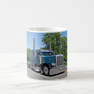 Light Blue Flattop 379 Mug