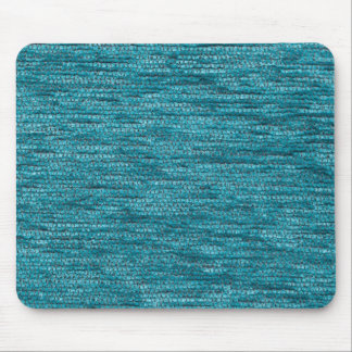 Light blue fur and light gray strings mouse pad