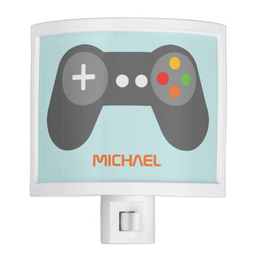 Light Blue Game Console Controller