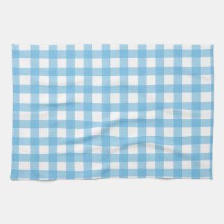 blue gingham kitchen towels zazzle