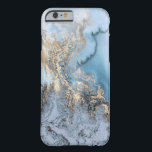 "Light Blue &amp; Gold Marble iPhone 6/6s Case<br><div class=""desc"">Light Blue &amp; Gold Chic Marble iPhone 6/6s Case</div>"
