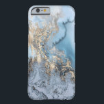 "Light Blue &amp; Gold Marble iPhone 6/6s Case<br><div class=""desc"">Light Blue &amp; Gold Chic Marble iPhone 6/6s Case</div>"