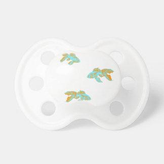 light blue goldfish pacifier