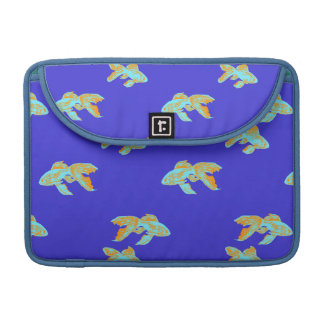 light blue goldfish sleeve for MacBook pro