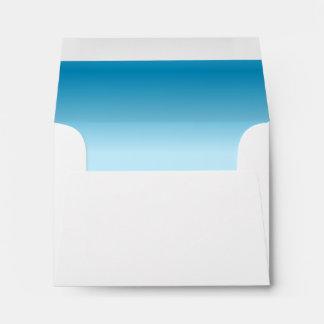 Light Blue Gradient Envelope