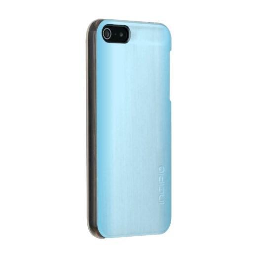 Light Blue Gradient Metallic iPhone SE/5/5s Case