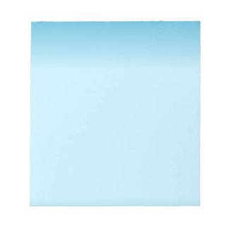 Light Blue Gradient Notepad