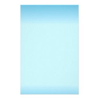 Light Blue Gradient Stationery