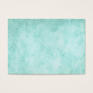 Light Blue Green Watercolor Paper Background Blank Business Card