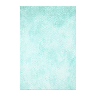 Light Blue Green Watercolor Paper Background Blank Canvas Print