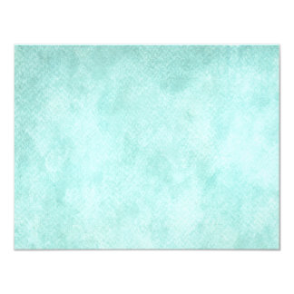 Light Blue Green Watercolor Paper Background Blank Card