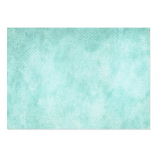 Light Blue Green Watercolor Paper Background Blank Large Business Card
