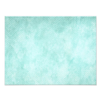 Light Blue Green Watercolor Paper Background Blank Photo Print