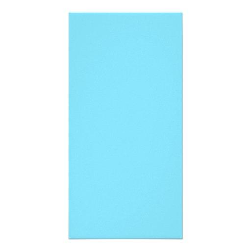 Light Blue Hanukkah Chanukah Hanukah Template Customized Photo Card