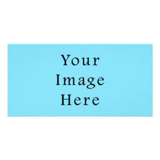 Light Blue Hanukkah Chanukah Hanukah Template Photo Card Template
