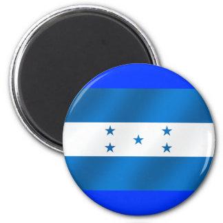 Light Blue Honduras glossy flag gifts Magnets