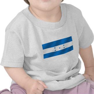 Light Blue Honduras glossy flag gifts Shirts