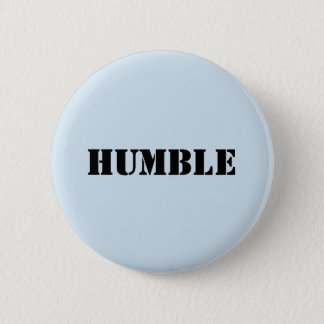 Light blue HUMBLE buttn Pinback Button