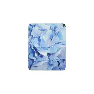 Light Blue Hydrangea Business Card Holder