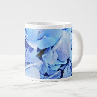 Light Blue Hydrangea Giant Coffee Mug
