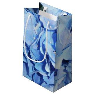 Light Blue Hydrangea Small Gift Bag