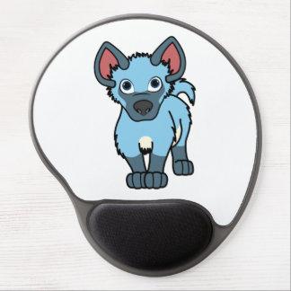 Light Blue Hyena Cub Gel Mouse Pad