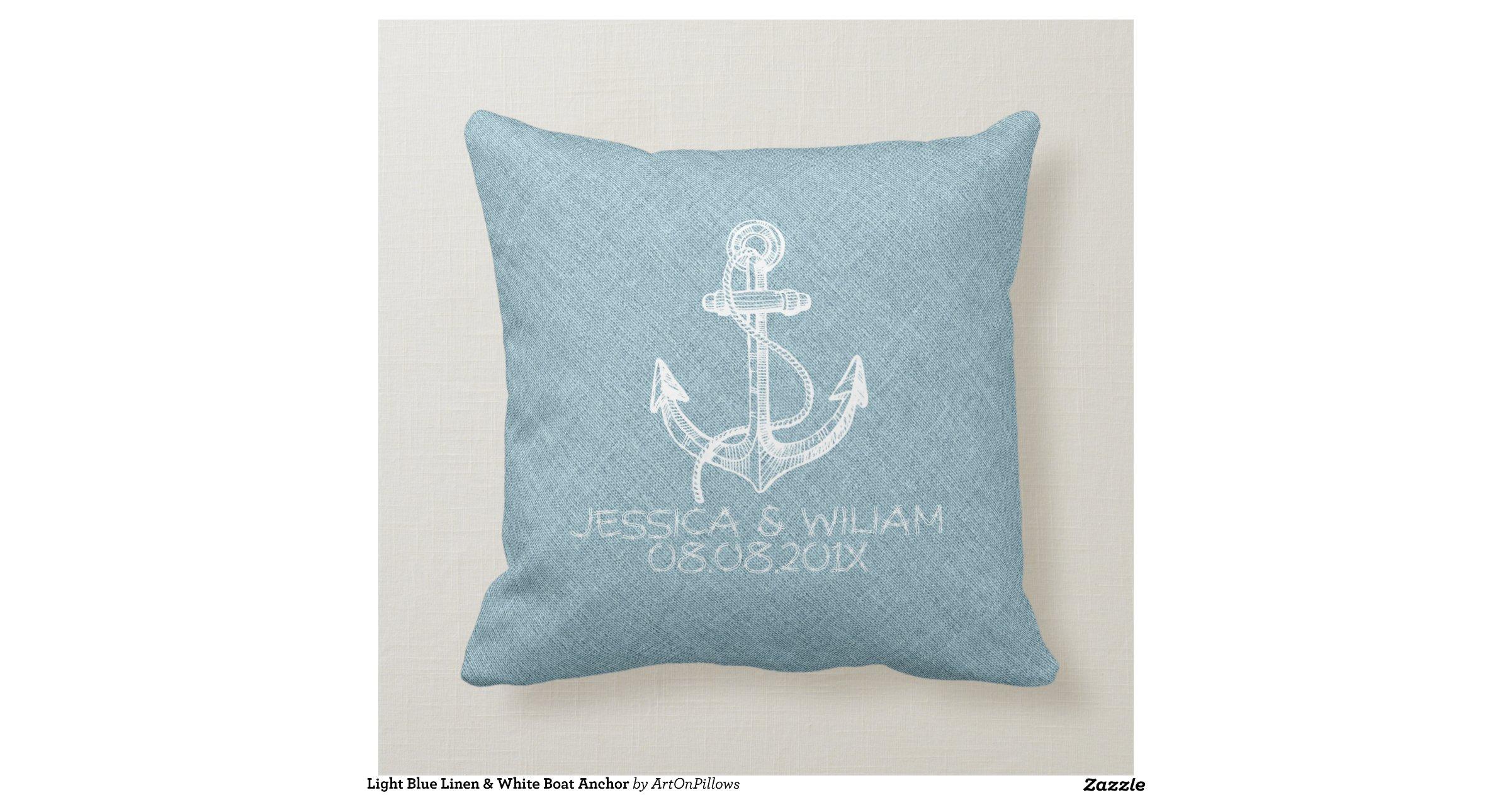 Throw Pillows Like Anthropologie : light_blue_linen_white_boat_anchor_throw_pillows-rbb65d9ceef7c474cbe9a38051d611d6f_i5f0b_8byvr ...