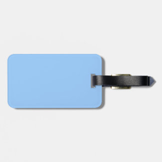 Light Blue Bag Tags