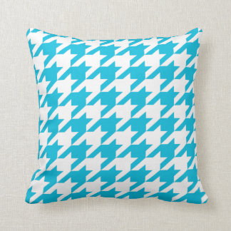 Light Blue Moods Throw Pillow