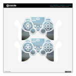 Light Blue Mountains PS3 Controller Decal